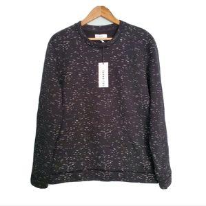NWT Calibrate Black White Print Sweater